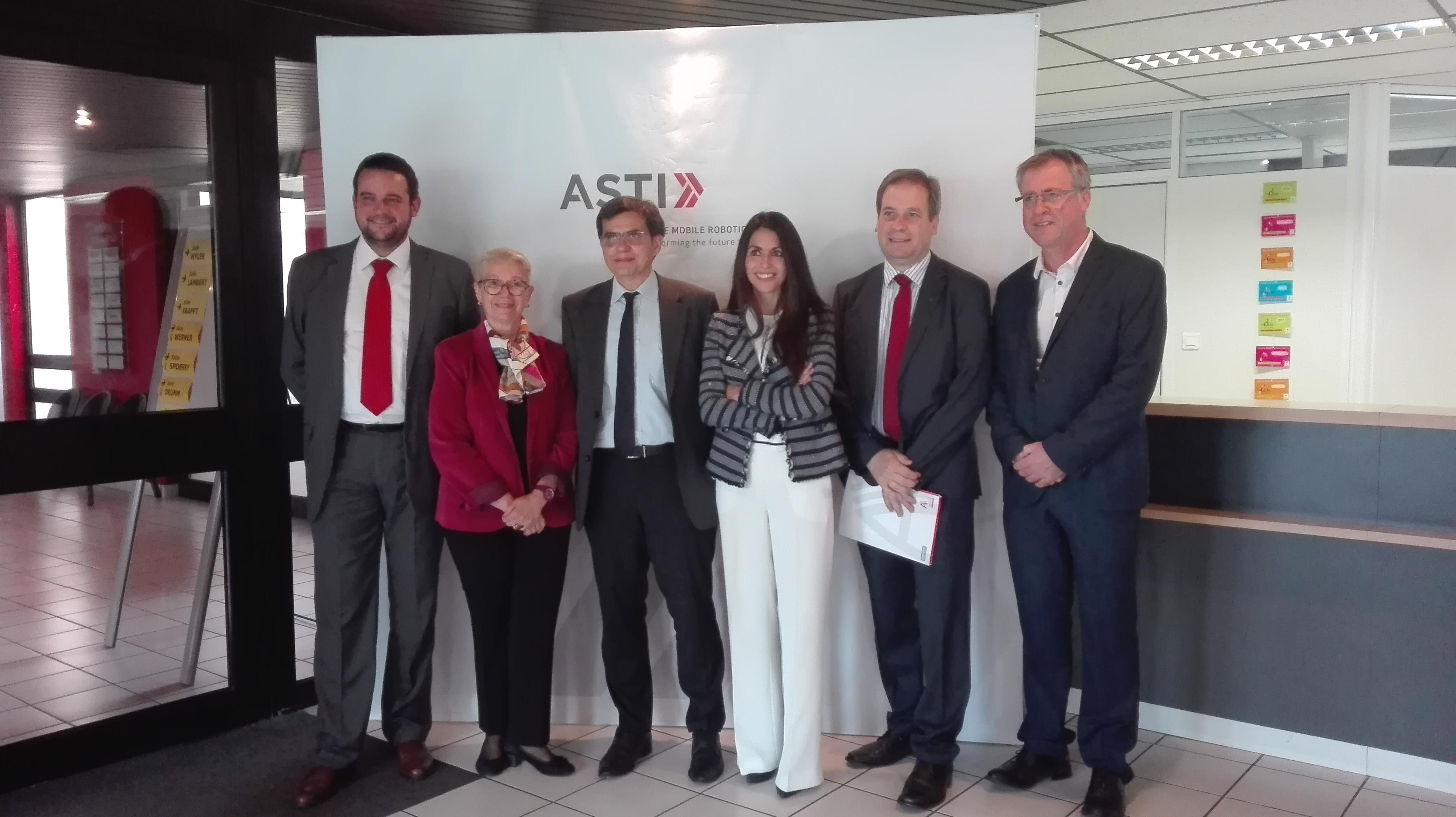 ASTI inaugura en Francia su primera filial europea para reforzar la calidad y cercanía en el servicio al cliente