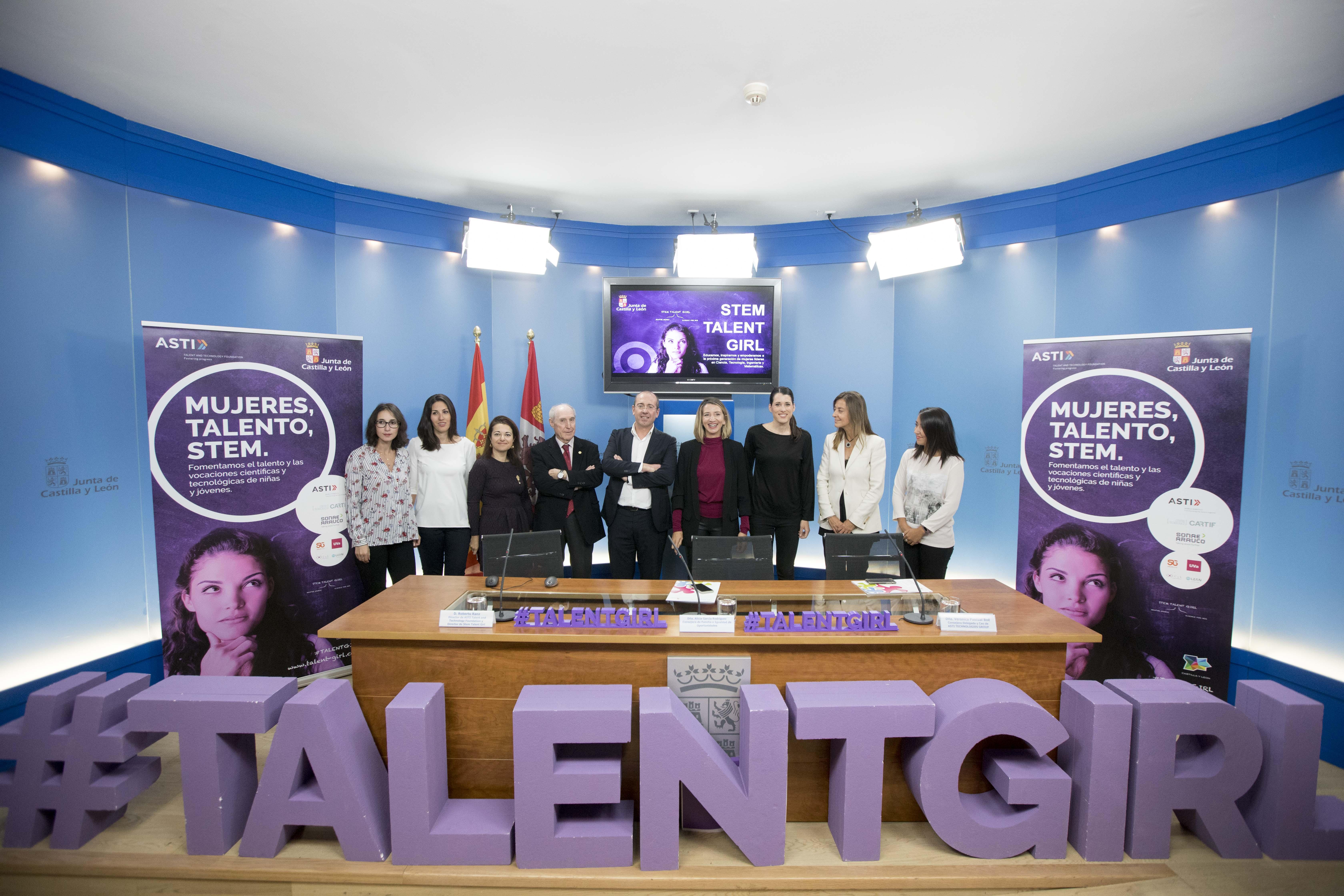 La Junta y la Fundación ASTI impulsan el proyecto 'Stem Talent Girl' para el fomento entre las alumnas del talento y las vocaciones en las carreras de ciencias y tecnologías