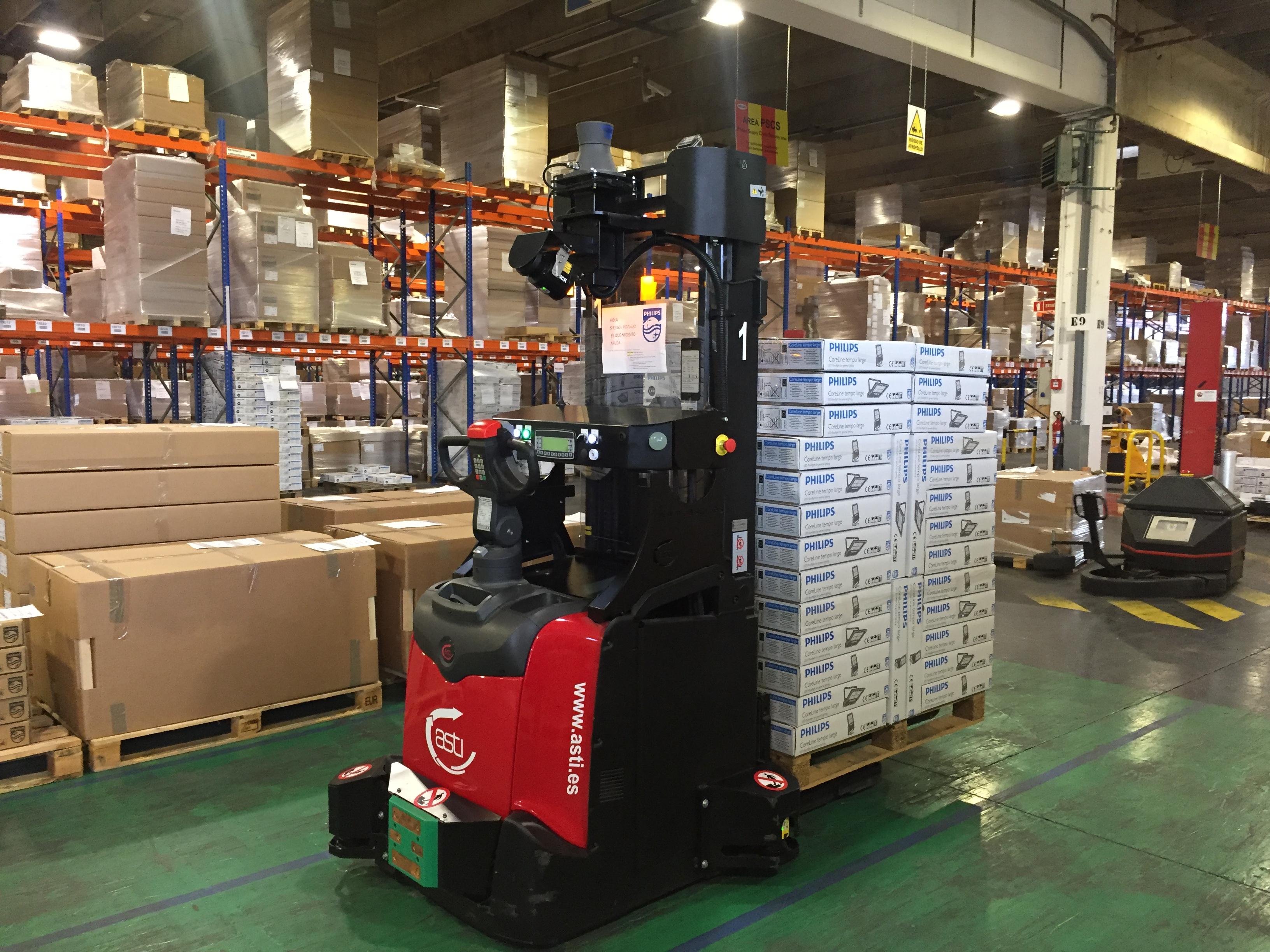 Herramienta de gestión de tráfico automatizada de AGVs