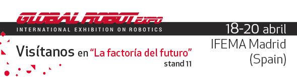 ASTI Mobile Robotics presenta en la Global Robot Expo sus avances en automatización