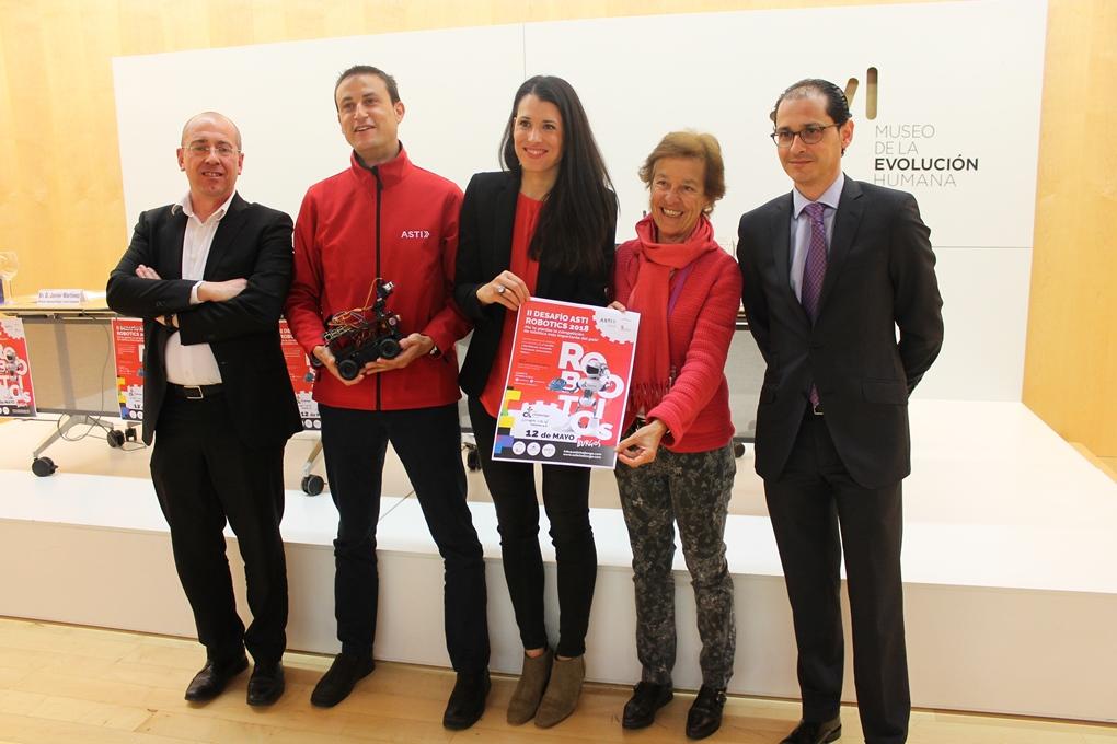 El II Desafío ASTI Robotics sitúa a Burgos como capital de la robótica móvil en España