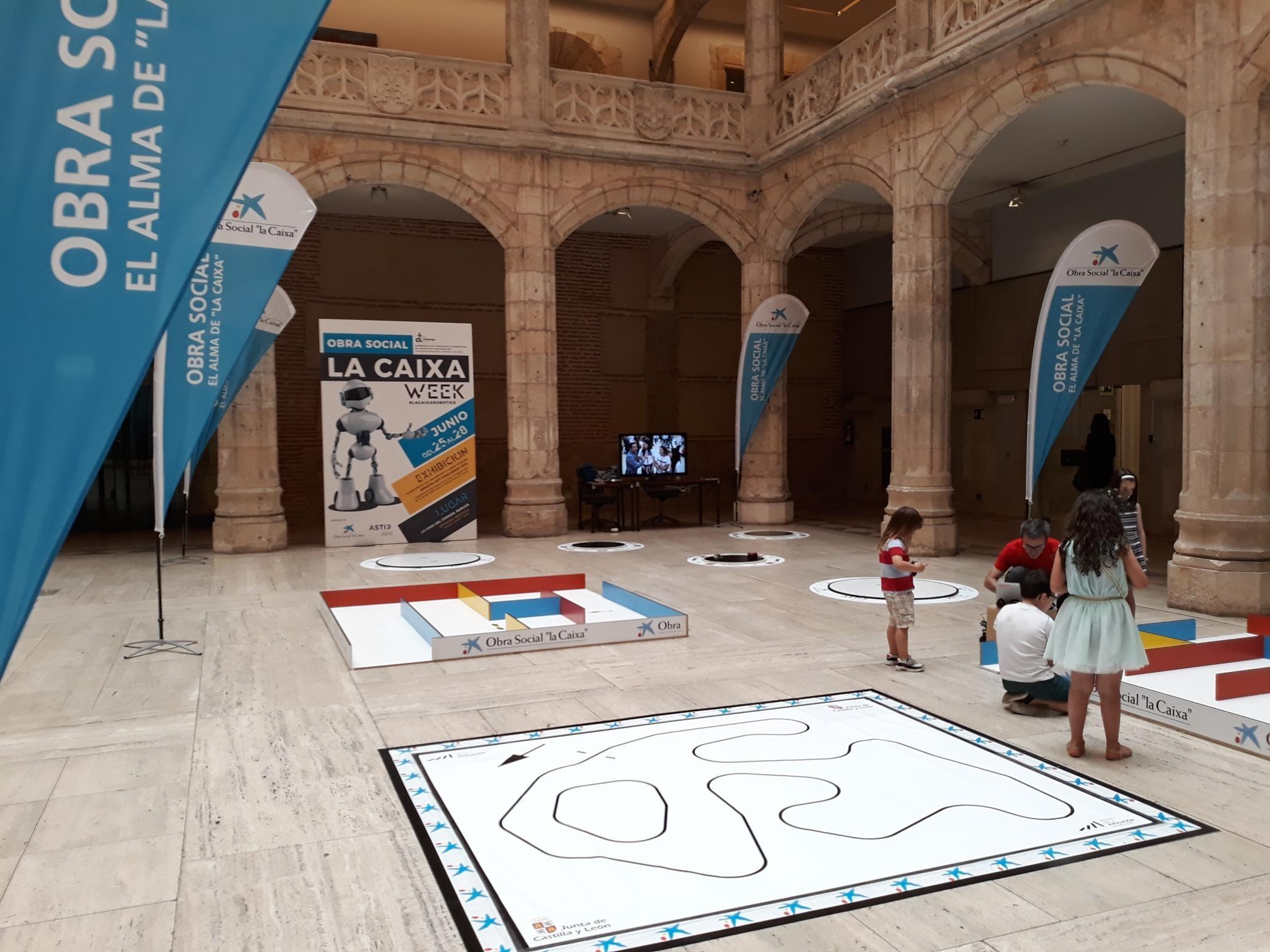 """La Casa del Cordón de Burgos abre sus puertas a la primera edición de """"Obra Social la Caixa Robotics Week"""""""