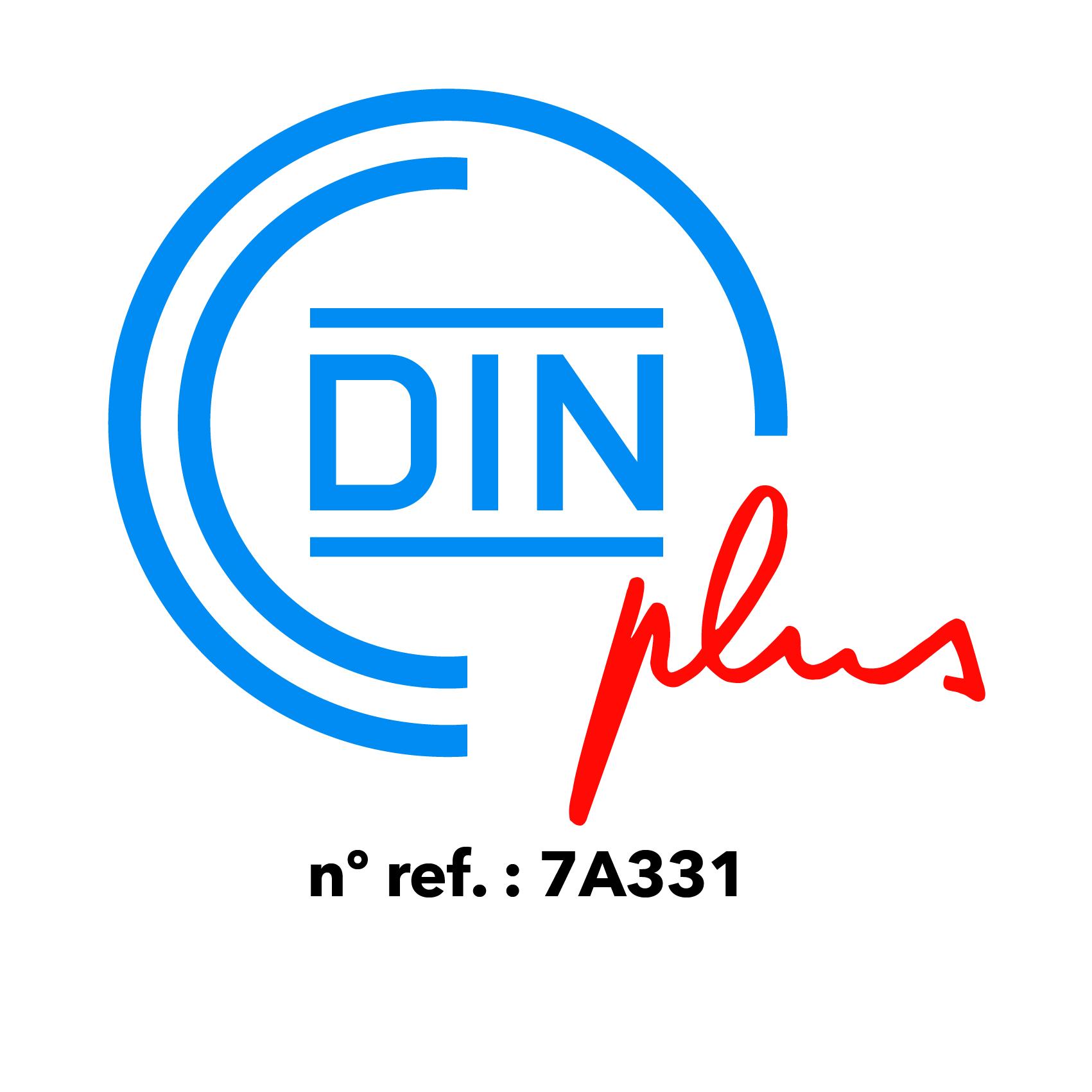 Nueva Certificación de calidad DIN Plus