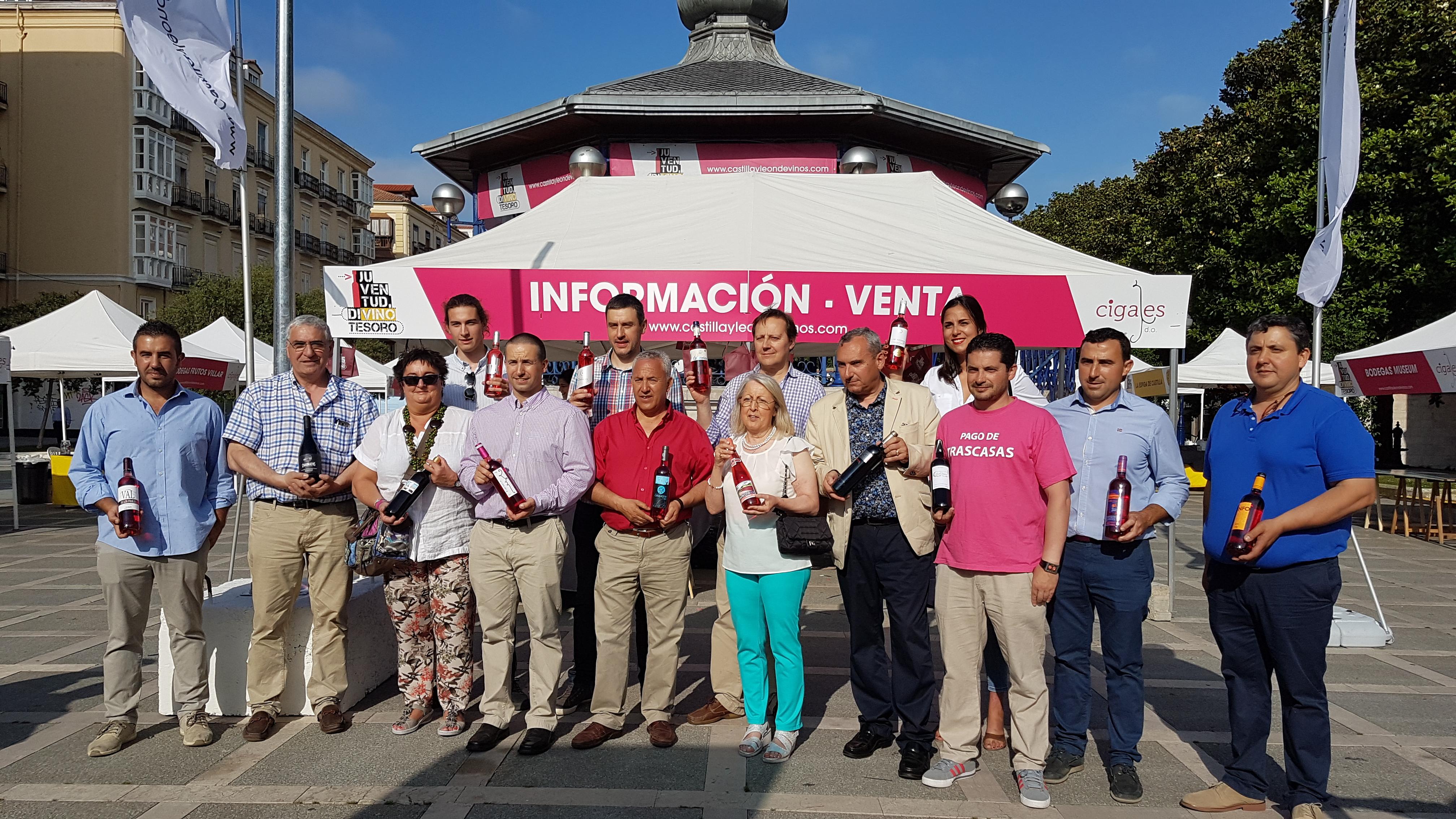 La DO Cigales vuelve a triunfar en Santander