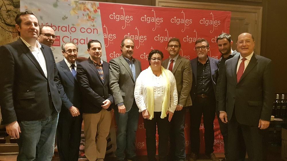 LOS TINTOS DE CIGALES CREAN GRAN EXPECTACIÓN EN MADRID