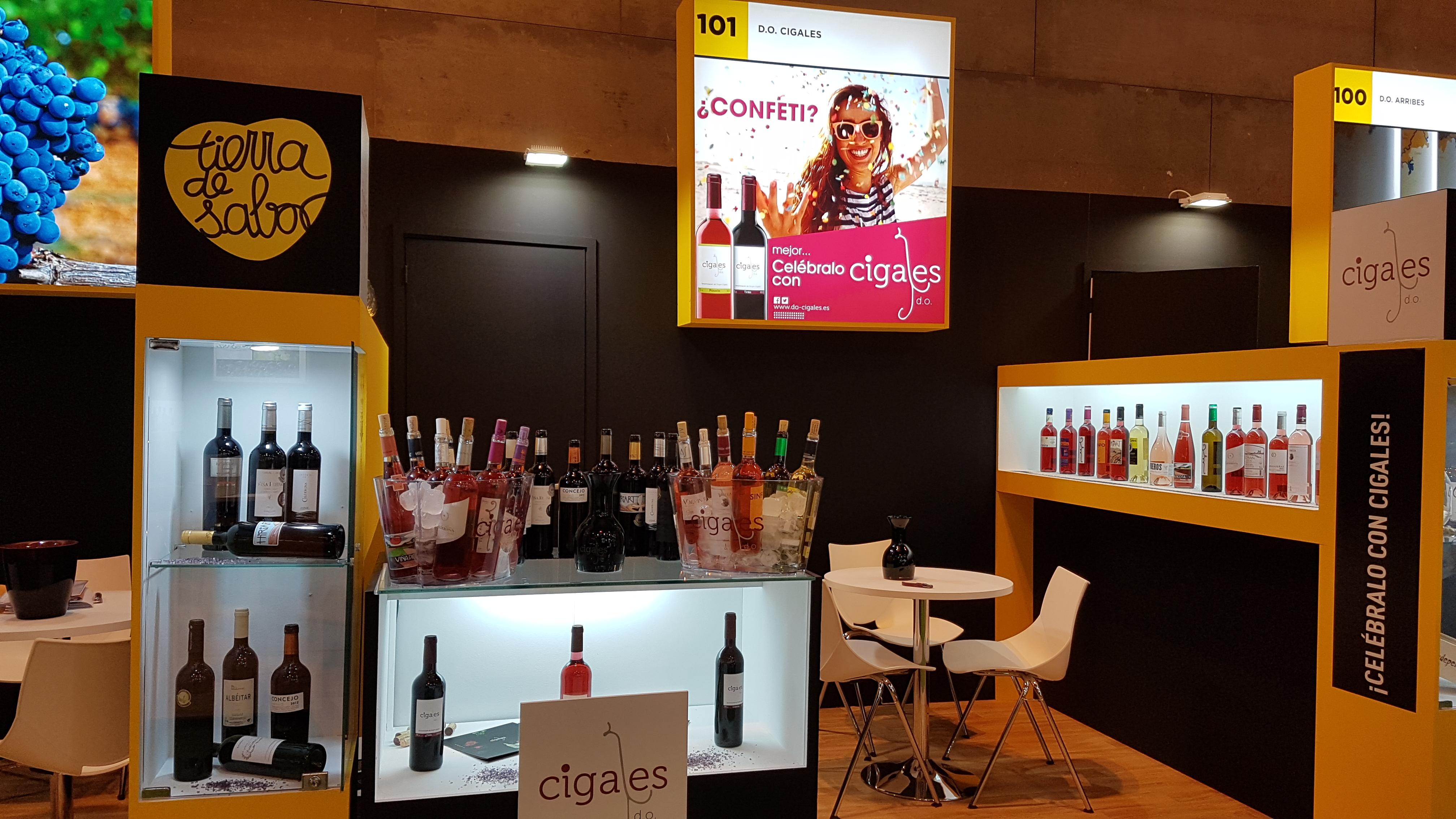 22 vinos diferentes podrán degustarse en el stand de la DO Cigales en Gourmets