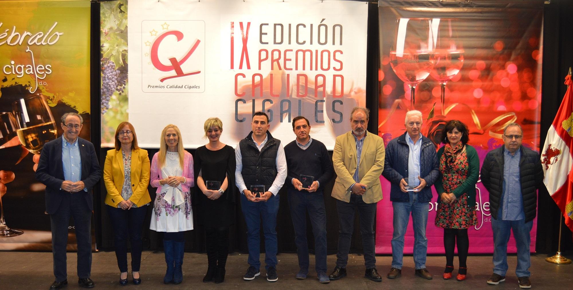 El blanco de César Príncipe, Salvueros con su rosado y tinto roble y Museum Reserva, Premios Calidad Cigales 2018