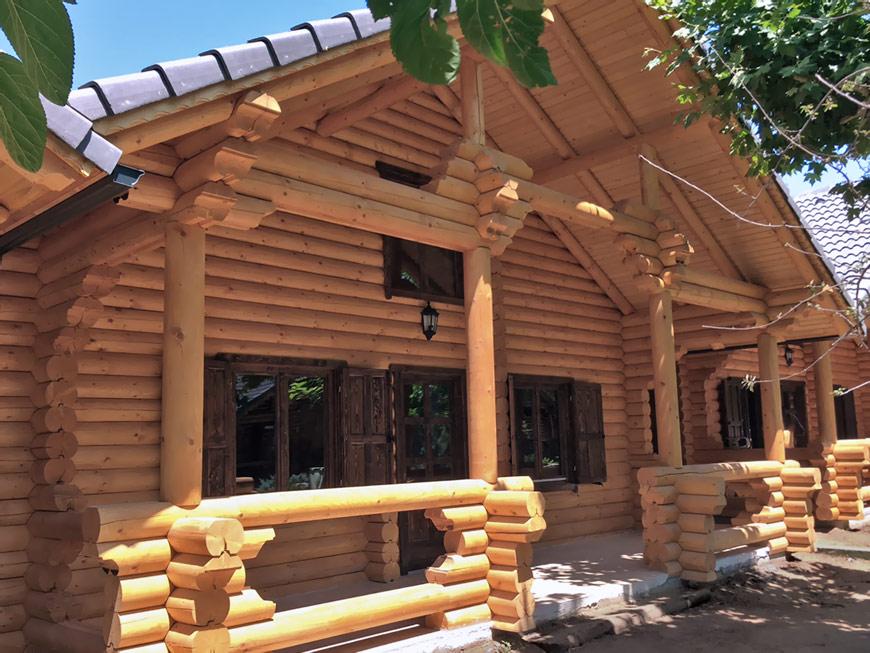 Nuevas casas de madera de troncos macizos en eurocasa eurocasa - Casas prefabricadas eurocasa ...