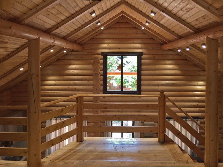 Nuevas casas de madera de troncos macizos en eurocasa - Decoracion troncos madera ...