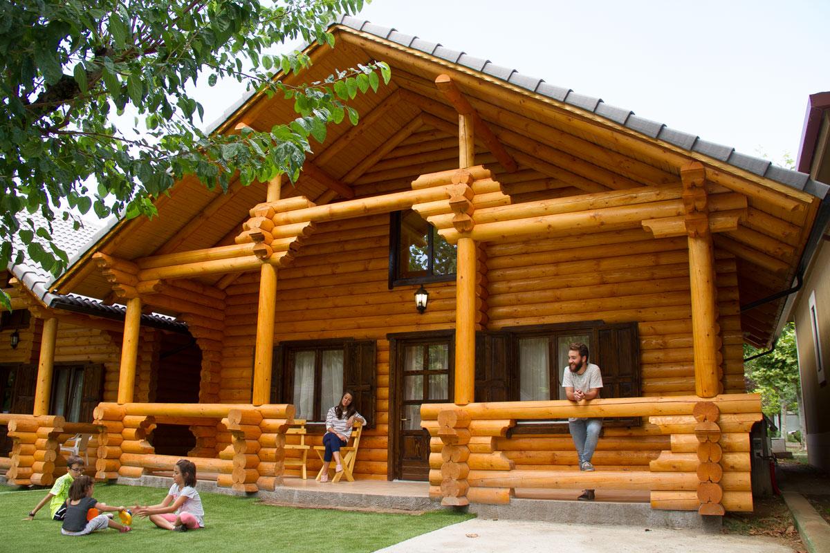 Casas de troncos de madera eurocasa - Ver casas de madera ...