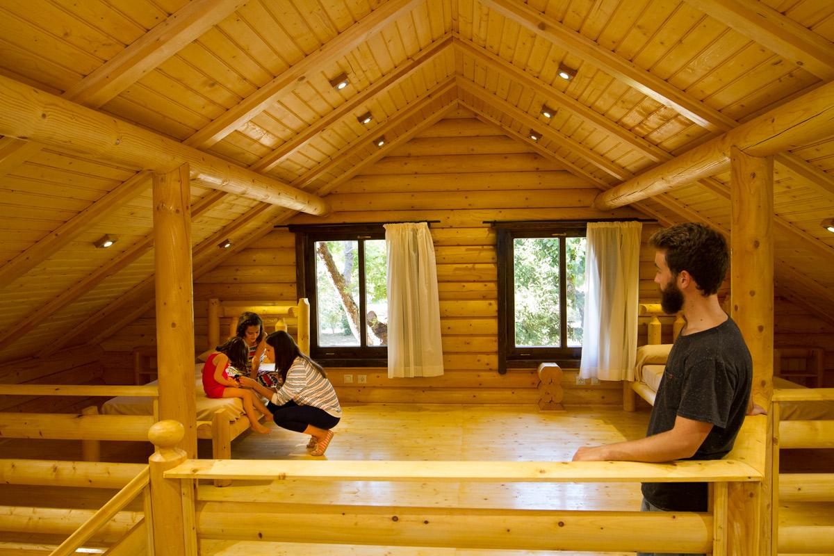 Casas de troncos de madera eurocasa - Decoracion troncos madera ...