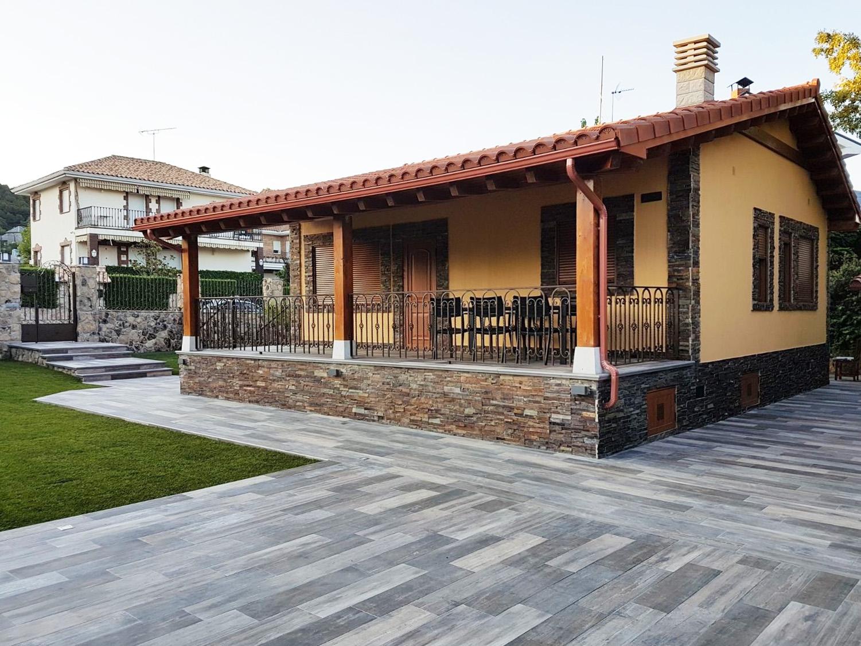 Casa prefabricada en la sierra de madrid eurocasa - Casas prefabricadas eurocasa ...