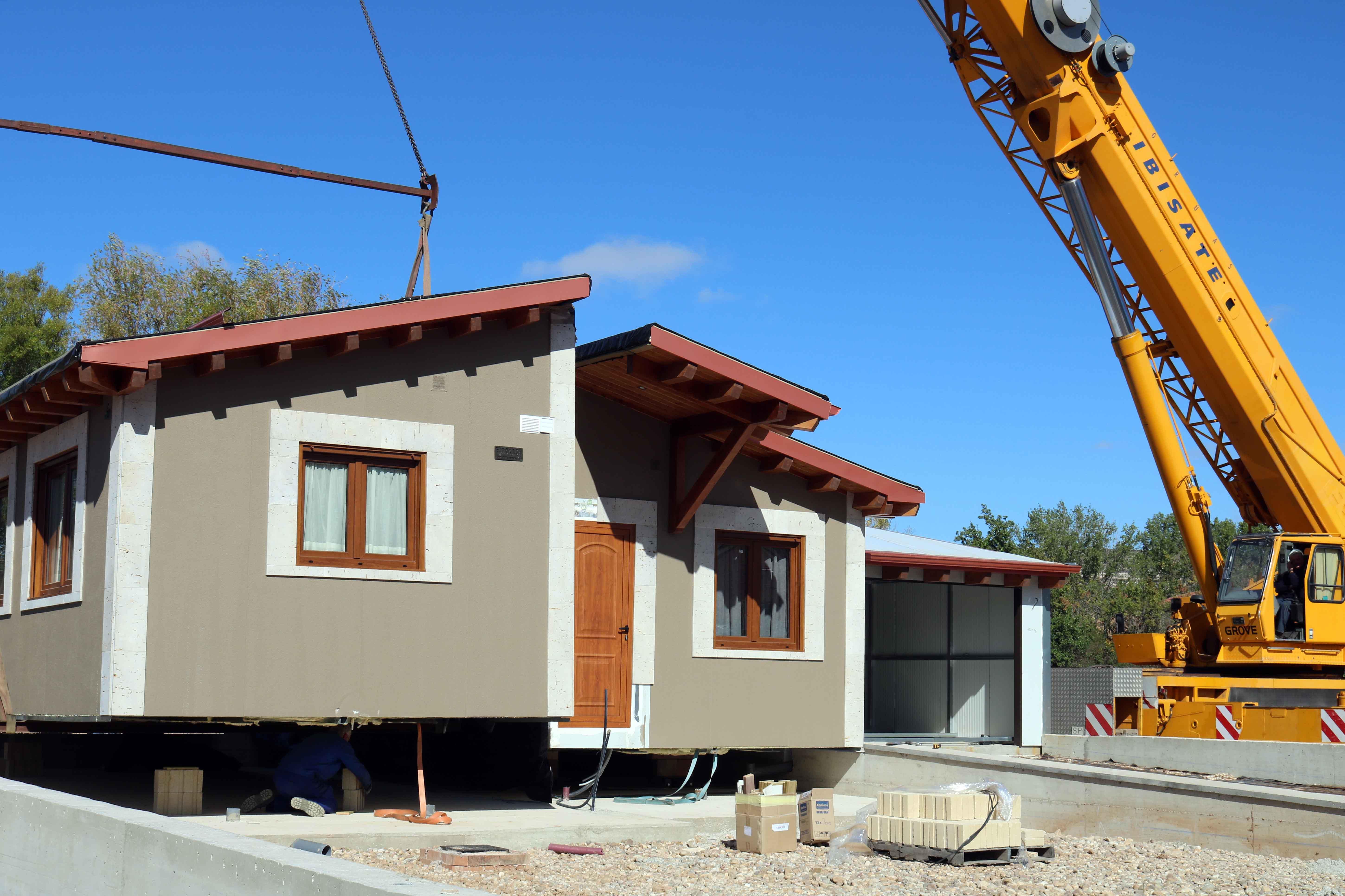Transporte y montaje casas prefabricadas eurocasa - Casas prefabricadas eurocasa ...