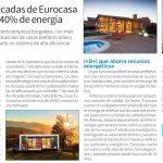 Hasta un 40% de ahorro en energía con las casas prefabricadas de Eurocasa