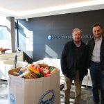 Eurocasa solidaria con el Banco de Alimentos
