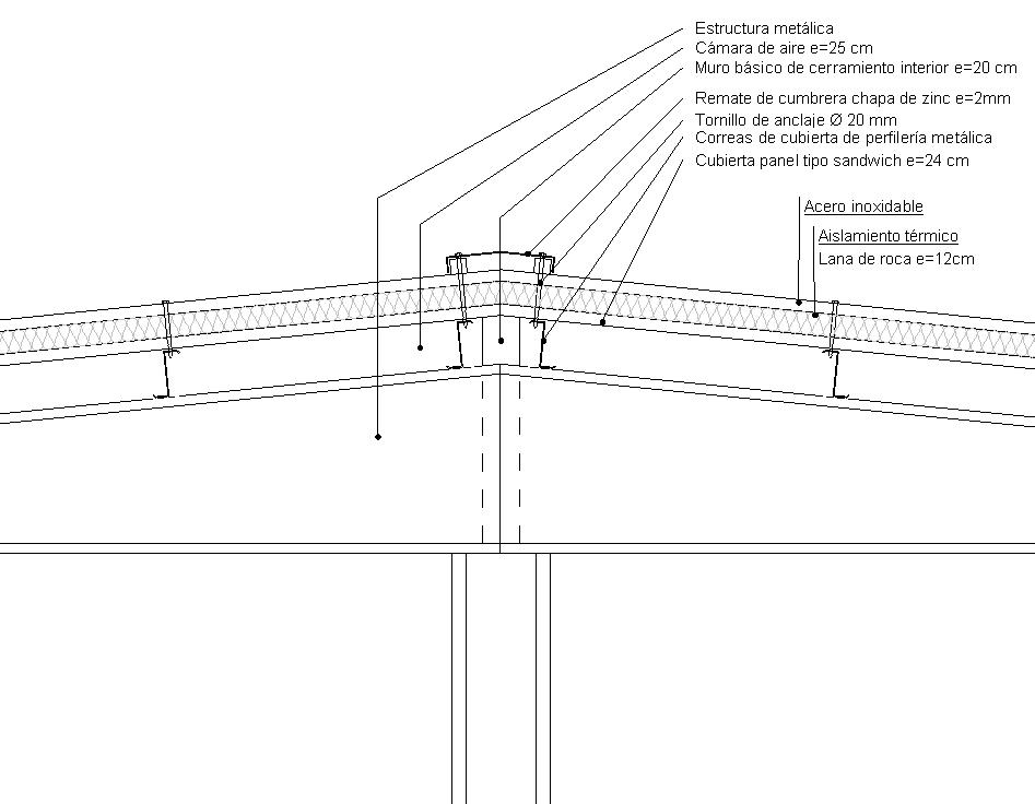 Creaci n de detalles constructivos con revit noticias spin ingenieros - Detalle constructivo techo ...